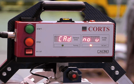 Cadno   Roll Profile measurement by Corts Engineering